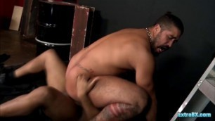 Two passionate guys please one another ass