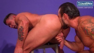 Muscle Models Rides Long Cock