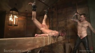 Slave Submits to Christian Wilde