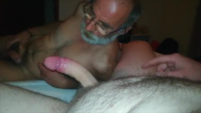 Man blowjob old Old Man