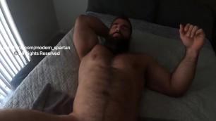 modern spartan  Nick Pulos - Ass play, masturbat