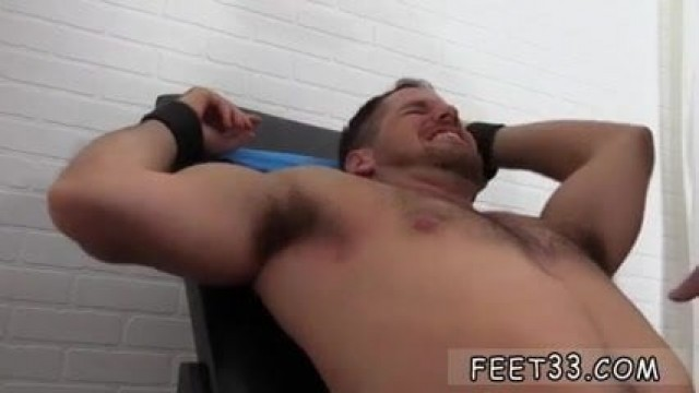 Sexy gay feet Chance Cruise Tickle d
