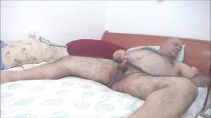 I cum with dildo pressed on my hole