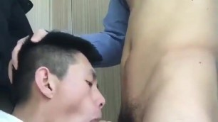 asian twink blows his friend for cam (1'29'')