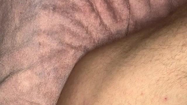 Butt plug in gf panties